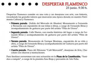 despertar flamenco